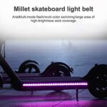 Patinete electrico luces led