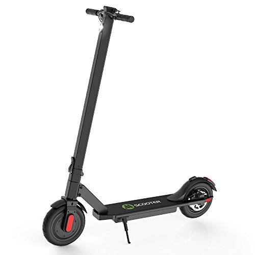 M MEGACHEELS Patinete electrico Adulto S5S - Scooter electrico 25km/h, Juventud Unisex,Negro