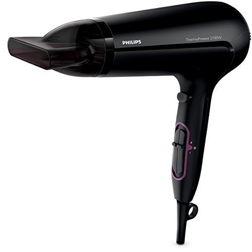 DRYER FOR HAIR PHILIPS THERMOPROTECT HP8204/10 (2100W; BLACK COLOR)