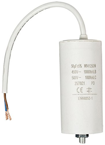 Fixapart - Capacitor 50.0Uf / 450 V + Cable