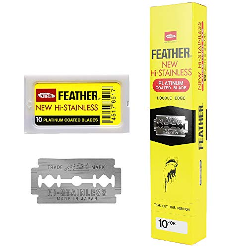 Feather Hojillas de Afeitar Doble Filo - 200 Unidades