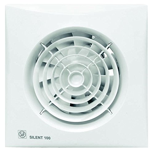 S & p silent-100 - Extractor bano silent-100-chz 8w 2100rpm