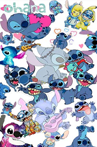 Composition Notebook: Lilo et Stitch Vol. 21 Anime Cartoon Journal/Notebook College Ruled 6x9 inches, 120 pages