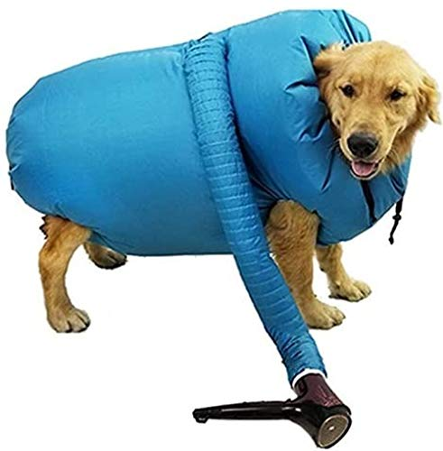 zcm dog bath towel, pet drying bag, dog drying artifact, dog bath, dog dryer, noise-prone tools, dog-friendly, can quickly dry hair after bathing
